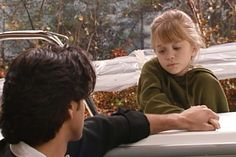 Uncle Jesse comforts Michelle after her great-grandpa (his grandpa) died unexpectedly Uncle Jesse, Ashley Olsen, Full House, Tv Shows, Tv Series