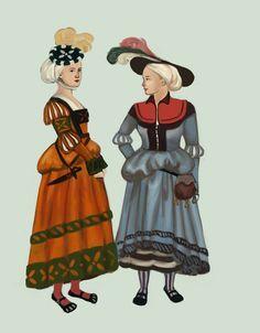 Kampfrau or Trossfrau dress by Tadarida on DeviantArt