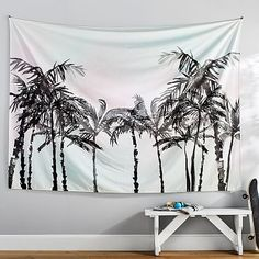 Palm Tree Tapestry #pbteen