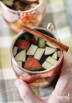 Apple Cinnamon Hot Toddy recipe via @inspiredbycharm