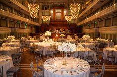 Planner: Angela Proffitt Venue: Schermerhorn Symphony, Nashville Photographer: Matt Andrews Photography
