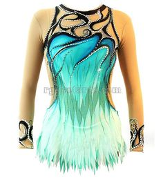 Etsy の Frozen rhythmic gymnastics leotard by RGleotardShop