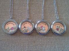 Origami Owl Living Lockets make the perfect gifts for bridesmaids    CourtneyMasters.OrigamiOwl.com