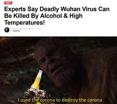 I used the corona to destroy the corona Marvel Memes Stupid Memes, Stupid Funny, Dankest Memes, Funny Stuff, Hilarious, Funny Relatable Memes, Funny Posts, Funny Quotes, Marvel Jokes