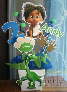 Check out this item in my Etsy shop https://www.etsy.com/listing/460016289/the-good-dinosaur-party-decoration-the