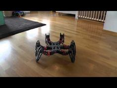 PhantomX running Phoenix code  「これは世界の終わりの始まりである」と恐れられていた6足歩行ロボットの動き(動画) http://labaq.com/archives/51769735.html via @lbqcom