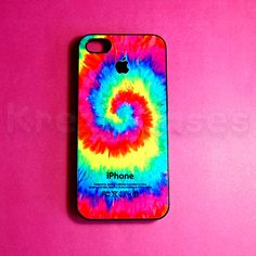 iPhone 5 tie dye case