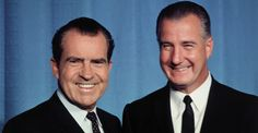 August 8, 1968: Richard M. Nixon wins the Republican nomination for president of the United States, with Spiro Agnew as his running mate.