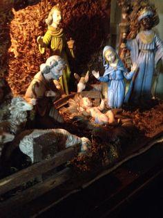 my Grandma's nativity scene
