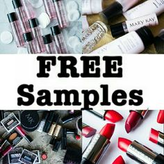 FREE SAMPLES Free samples from my new website all you have to do is 1. Go to my website-> www.marykay.com/omere 2. Click SHOP, right below it click SPECIAL OFFERS 3. Scroll down and click FREE SAMPLES   HURRY UP WHILE SUPPLIES LAST (ONE PER CUSTOMER) Mary Kay Makeup