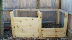 DIY compost bin - Must make one with all the juicing we are doing