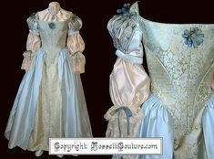 Enchanted Serenity of Period Films: Rossetti Costumes and Bridal Gowns