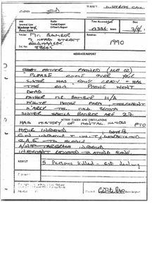 24 Police Logs Pocket Books Internal Memos Statements Ideas Internal Memo Police Log Pocket Books