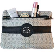 FREE Monogrammed Cosmetic Bag In the Hoop Design Set
