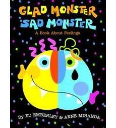 Seven monsters demonstrate different activities and talk about their feelings; each monster has a mask for children to try on and pretend the feeling.