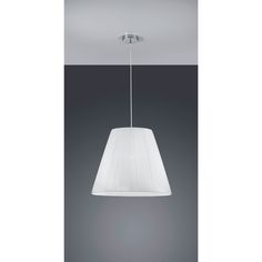 Trio Lighting Pendant Light with White Shade - WorldStores