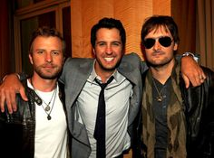 dierks bentley luke bryan AND eric church