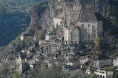 Rocamadour, France. Just added on my list of places to visit when I am in France again.