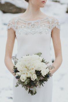 Winter Bridal Session - Rebekah Senter Photography