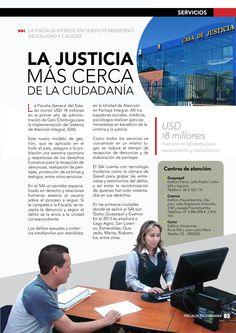 La Justicia más cerca de la ciudadanía.  la fiscalía Ecuador ofrece un servicio moderno de calidad y calidez