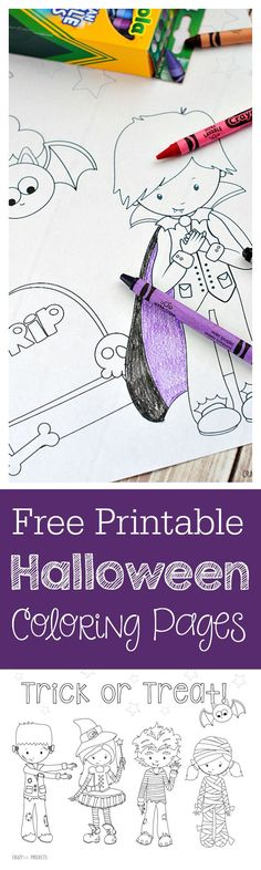 Free Printable Coloring Pages for Halloween