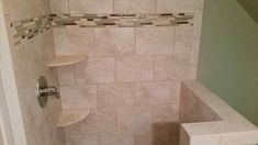 Bathrooms Design:Shower Accent Tile Ideas Strips Bathroom And With Glass Tsc In Or Not Vertical Tags For Trim Decorative Pieces Accents Mosaic Wall Floor Tiles Stone Border accent bathroom tile