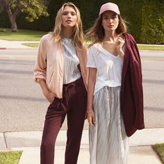 Burgundy is big news for spring. Balance the hue with classic cuts sunblushed pink and bold blooms! Shop the trends at hm.com  #HM  via H&M FASHION OFFICIAL INSTAGRAM - Men's Women's Kids Fashion Campaigns  Advertising  Editorial Photography  Magazine Covers  Ready To Wear