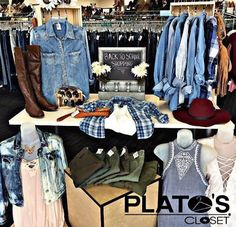 Plato's Closet has all your back to school shopping needs! Stock up on hot new styles for up to 50-70% off retail prices! http://ift.tt/2x1hsw4 - http://ift.tt/1HQJd81