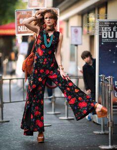 Hippie Glam Yulia Serzhantova By Benjamin Kanarek For Harper's Bazaar China January 2015 - Celine Glamour Fashion, Foto Fashion, Fashion Beauty, Womens Fashion, Beach Fashion, Bohemian Fashion, Bohemian Style, Estilo Glam, Estilo Hippie Chic
