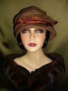 Cloche Couture by Berti Borrell. This woman makes all her own hats and they are exquisite!!!