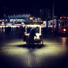 Taksim/ 2014  Karanlıktan aydınlığa #instagram http://instagram.com/p/wJ65vVst4L/