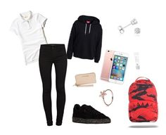 """""""Uniform💦"""" by dreairrational on Polyvore featuring Michael Kors, Beauty Rush, Hollister Co., J Brand and Amanda Rose Collection"""