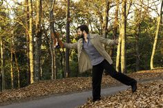 """Ricardo Alberto: Autumn Session - IV - """"Ricardo Alberto: Autumn Session - IV"""" October 2015  The fourth photograph of this autumnal photoshoot done in the beautiful Serra da Lousã with Ricardo Alberto (aka Mr. Vlalen - Personal Music Project), talented violinist (and listen him playing in the wild) and music teacher, in a fantastic day with a golden sunset. Slightly different from diversified influences. It was a pleasure, I hope you like it ... I loved it!  A quarta fotografia desta sessão…"""