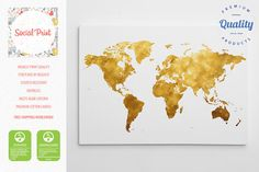 Woodland world map canvas print free shipping world map canvas gold world map canvas print free shipping 20x14 home decor world map custom world map pattern world map canvas art map print gumiabroncs Gallery