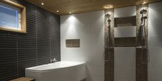 One more brown Home Spa, Corner Bathtub, Villa, Bathrooms, Koti, Bathroom Ideas, Brown, Google, Bath