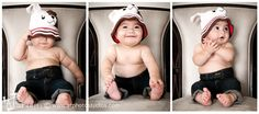 Seven month old #Baby #Boy Allen's #Photoshoot   Photography by A.T. Studios (Ani Tsatourian. Ani T. ) #in_home #hat  Follow us on FACEBOOK: http://www.facebook.com/atstudiospage