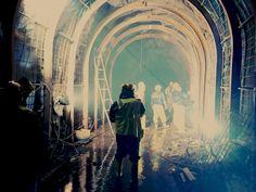 Fronton tunel trasvase entrada