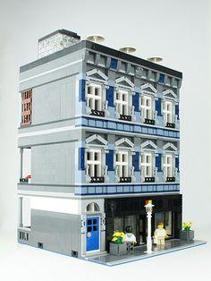 Lego Modular Building: Microsoft Store | Flickr - Photo Sharing!
