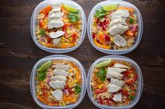 More than 45 healthy lunch bowl recipes to keep your lunch exciting! Healthy lunch recipes to fuel you all afternoon long, including vegetarian options. Lunch Recipes, Dinner Recipes, Cooking Recipes, Healthy Recipes, Free Recipes, Cleaning Recipes, Healthy Foods, Holiday Recipes, Cooking Tips