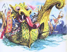 #Dragon by illustrator Libico Maraja (Swiss)