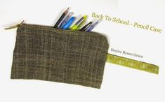 5 Fun and Easy Stash-busting Projects – Schacht Spindle Company Weaving Projects, Easy Projects, Cricket Loom, School Pencil Case, Yarn Store, Woven Fabric, Back To School, Knit Crochet, Sewing