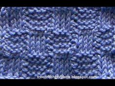 How to do a Tunisian Basketweave Stitch    For written instructions and more info, visit the blog: http://freecrochetvideos.blogspot.com/2013/03/tunisian-crochet-basketweave-stitch.html      Links to techniques used for this stitch:  Tunisian Crochet Basics: http://youtu.be/ZwxUncPDOVY  Tunisian Knit Stitch: http://youtu.be/EGslrm-iSqE  Tunisian Purl St...