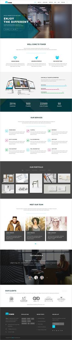 Tower is a wonderful responsive 6in1 #WordPress theme for #corporate business and startups website download now➩ https://themeforest.net/item/tower-corporate-business-multipurpose-wordpress-theme/18587959?ref=Datasata