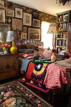 Best bohemian bedroom design ideas 29 in 2020 Dream Rooms, Dream Bedroom, Bohemian Bedroom Design, Bohemian Bedrooms, Eclectic Bedroom Decor, Shabby Bedroom, Bohemian Interior, Shabby Cottage, Cozy Bedroom