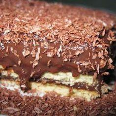 Πολίτικη Κουζίνα Αλίντα Κανάκη: Οικονομικό γλυκό με μπισκότα