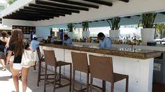 Bar near the pool at Playacar Palace