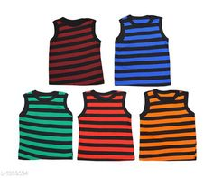Innerwear Cute Cotton Kids Vest (Pack of 5) Fabric: Cotton Sleeves: Sleeves Are Not Included Size: Age Group (0 Months - 3 Months) - 10 in Age Group (3 Months - 6 Months) - 12 in Age Group (6 Months - 9 Months) - 12 in Age Group (9 Months - 12 Months) - 14 in Age Group (12 Months - 18 Months) - 16 in Age Group (18 Months - 24 Months) - 18 in Age Group (2 - 3 Years) - 20 in Age Group (3 - 4 Years) - 22 in Age Group (4 - 5 Years) - 24 in Type: Stitched Description: It Has 5 Pieces of Kids Vest Work: Printed Sizes Available: 0-3 Months, 0-6 Months, 3-6 Months, 6-9 Months, 6-12 Months, 9-12 Months, 12-18 Months, 18-24 Months, 0-1 Years, 1-2 Years, 2-3 Years, 3-4 Years, 4-5 Years, 5-6 Years *Proof of Safe Delivery! Click to know on Safety Standards of Delivery Partners- https://ltl.sh/y_nZrAV3  Catalog Rating: ★4.1 (4127)  Catalog Name: Kids' Vest Pack Of 5 CatalogID_167403 C59-SC1187 Code: 091-1309594-