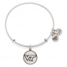 alex and ani  Virginia Tech Logo Charm Bangle