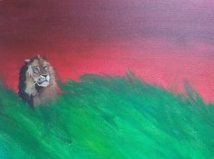 #lion #mighty #warrior #Christ #painting Painting & Drawing, Christ, Lion, Drawings, Animals, Kunst, Leo, Sketches, Animales
