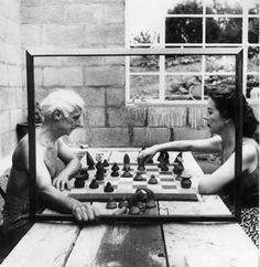 Max Ernst y Dorothea Tanning